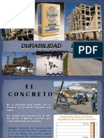 Durabilidad del concreto - Pavimento de Concreto optimizado.ppt