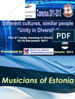 Musicians of Estonia