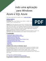 Construindo uma aplicação ASP