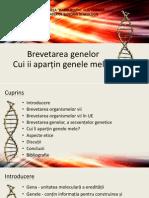 Bioetica Medicala - Cui II Apartin Genele Mele