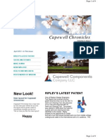 Capewell Chronicles April 2013