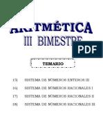 ARITMÉTICA - 1º SEC 1