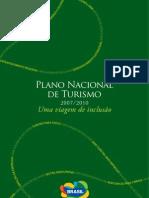 Plano Nacional Turismo 2007 2010
