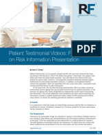 Patient Testimonial Videos