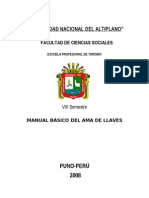Manual Ama de Llaves