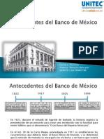 Tarea 1. Antecedentes del Banco de México
