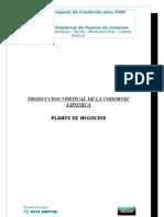PROYECTO DE FUNDACIÓN PARA 5000 CODORNICES PONEDORAS DE HUEVOS DE CONSUMO EN EL FUNDO  LA VENTURA