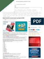 Super Lista de Comando Para o Prompt Do DOS _ So Dicas