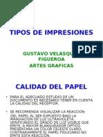 TIPOS IMPRESIONES GRAFICAS