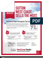 #1 Canadian Broker Real Trends Report 2013