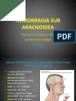 Hemorragia Sub Aracnoidea