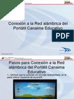 Conexion a La Red-Alambrica Portatil Canaima-educativo