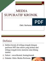 Otitis Media Supuratif Kronik
