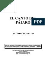De Mello Antony El Can to Del Pajaro