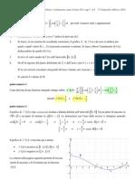 Soluzione Problema 1 Liceo Scientifico 2013