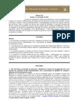 TCU - Informativo de Jurisprudência sobre Licitações e Contratos nº 154