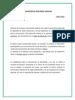 ADQUISICIÓN DE SEGUNDAS LENGUA1 CERVANTES