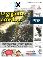 Jornal Vox, 5ª edição, 21 de junho de 2013