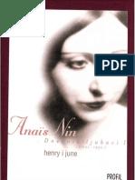 Anais Nin Henry i June Dnevnik Ljubavi