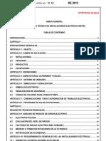 RETIE Proyecto Modificacion OMC 26-04-2013