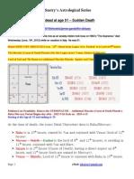 Actor James Gandolfini Death Analysis
