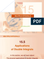 Aplicaciones de La Integral Doble