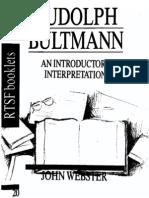 Bultmann Webster