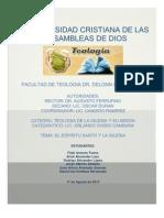 El Espiritu Santo y La Iglesia.