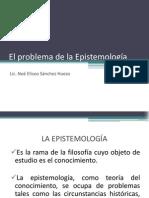 El problema de la Epistemología