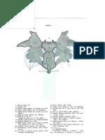 Láminas de localización del Test de Rorschach