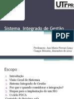 Sistema  Integrado de Gestão 1