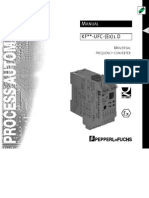 Universal Frequency Converter Kfd2-Ufc-manual