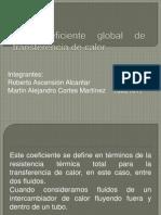 4.2 Coeficiente Global de Transferencia de Calor