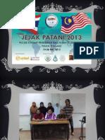 Jejak Patani 2013 - Slide PowerPoint