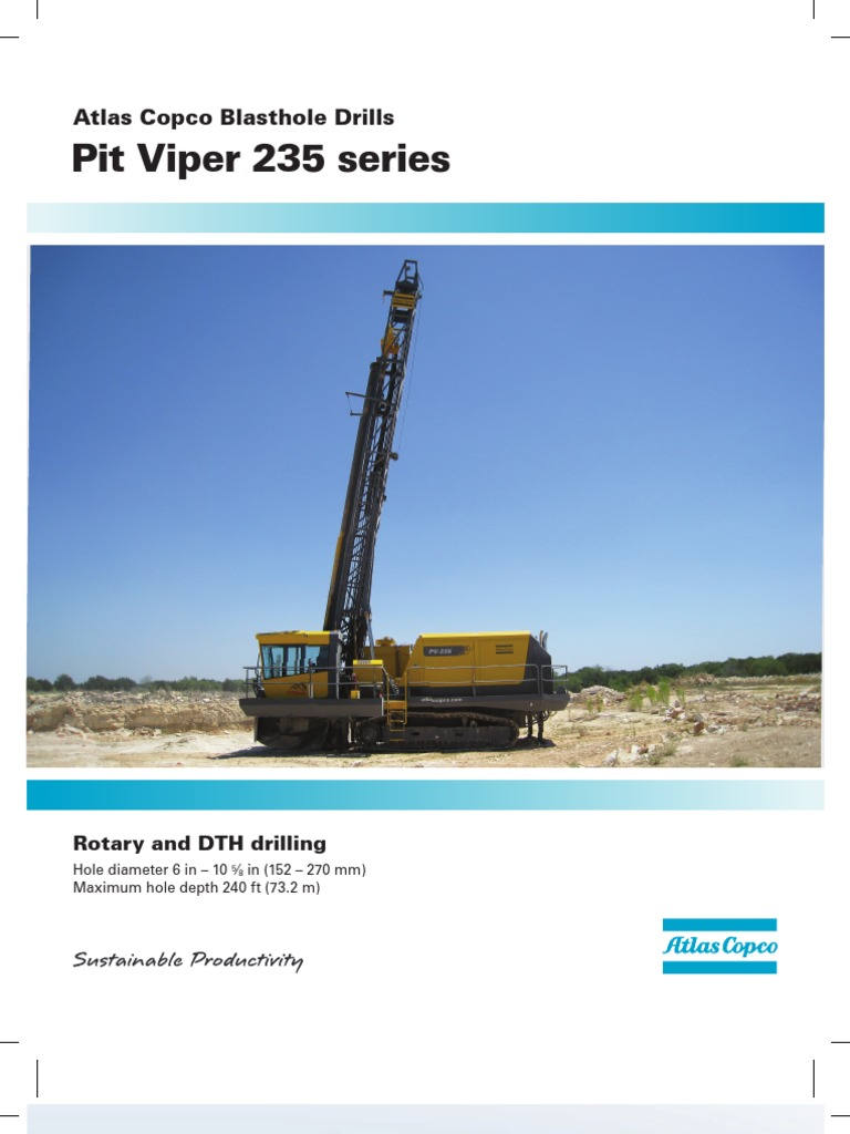Pit Viper 235 High Resolution US Tcm1241-3515574 | Drilling | Drilling Rig