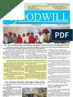The Goodwill Oct-Dec 2012