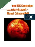 Warhammer 40K Campaign