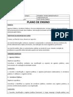 002 - Programa de Direito Administrativo II