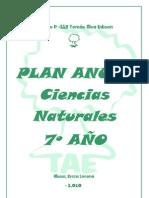 plan anual 5º