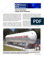 Water Tanks for Fire Protection
