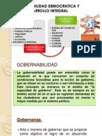Gobernabilidad Democratica y Sistema de Consejos de Desarrollo