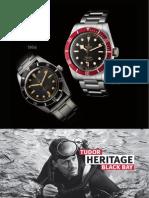 Tudor Heritage Black Bay brochure