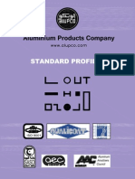 Aluminum standard Profiles Catalogue (Apr. 2012)