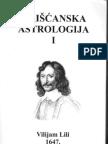 Hriscanska Astrologija I - William Lilly