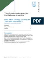 Editing a WSDL