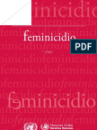 Documentos Libros Feminicidio