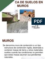 Mecanica de Suelos en Muros