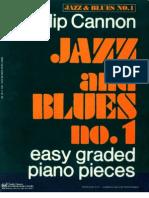 Jazz Blues 1 Easy Graded Piano Pieces