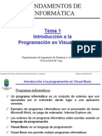 Tema 1 Introduccion a La Programacion en Visual Basic