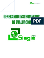 Generando Instrumentos de Evaluacion